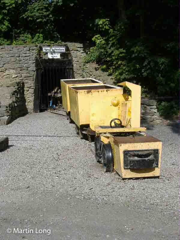Adit and wagons, Crich Mining Display, Derbyshire. Photo © Martin Long