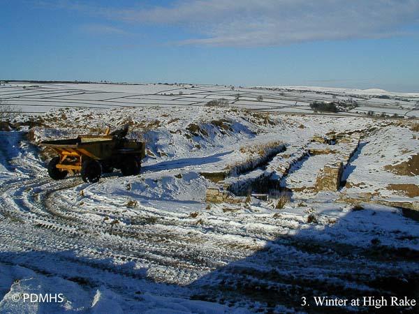 High Rake Mine Conservation Project , Derbyshire Peak District