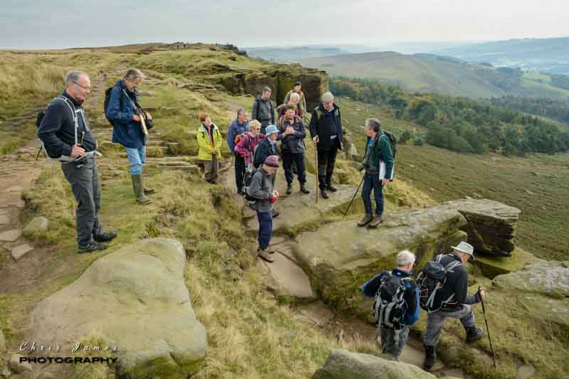 One of the medieval packhorse routes on Stanage Edge