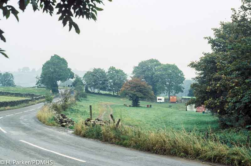 Wills Founder Engine recovery, Winster - view of the site in October 1978.