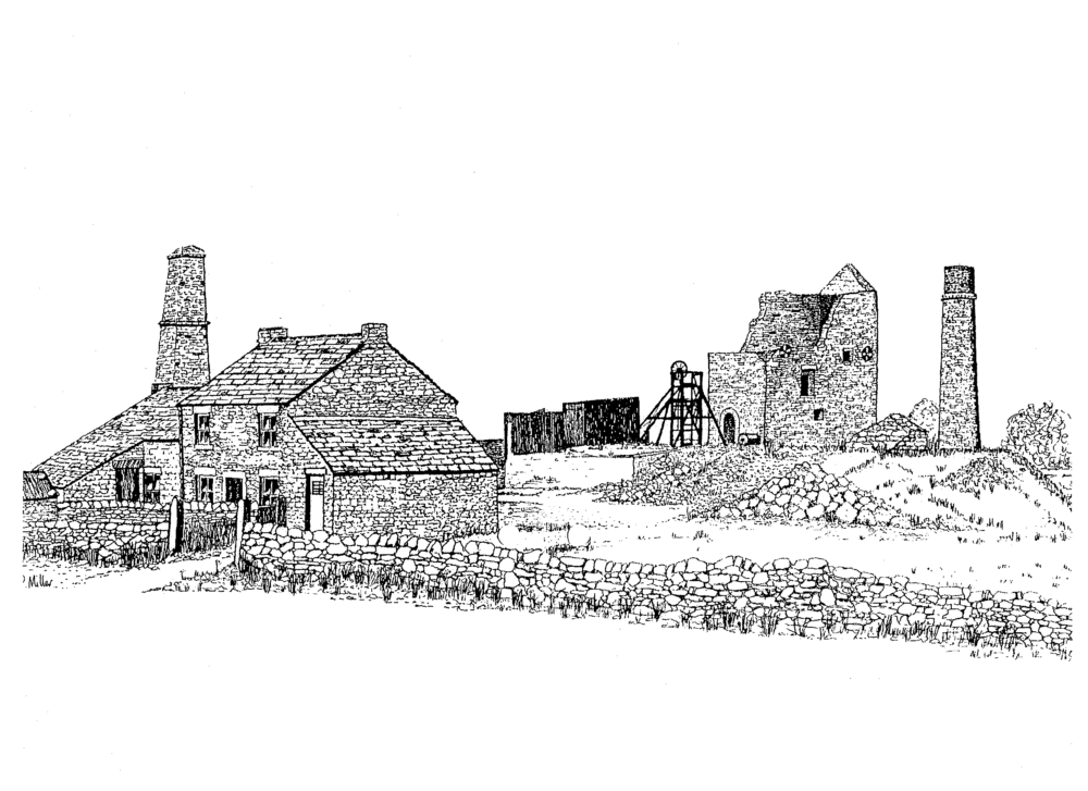 Magpie Lead Mine, Sheldon