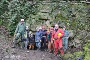 Underground mine trip in the Derbyshire Peak District