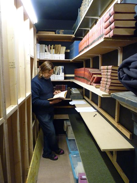 New storage space for archive material at Peak District Mining Museum