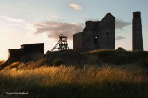 Magpie lead mine, Sheldon, Peak District. Photo © Ian Kirkland