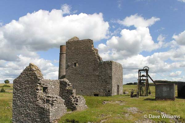 Magpie Mine Engine House and Headgear