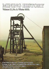 Mining History - bulletin of the Peak District Mines Historical Society