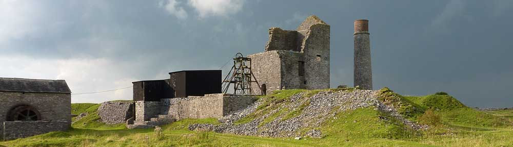 Magpie lead mine, Sheldon, which is managed by the Peak District Mines Historical Society
