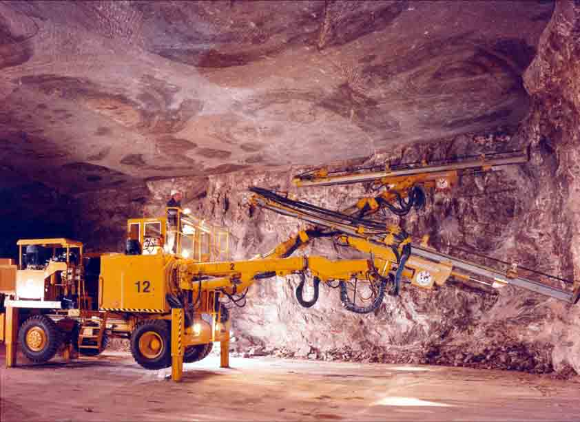 Winsford Rock Salt Mine in Cheshire