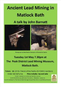 Derbyshire heritage event on ancient lead mining in Matlock Bath