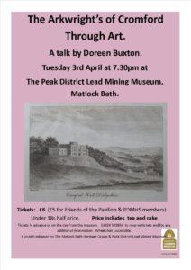Derbyshire heritage event April 2018
