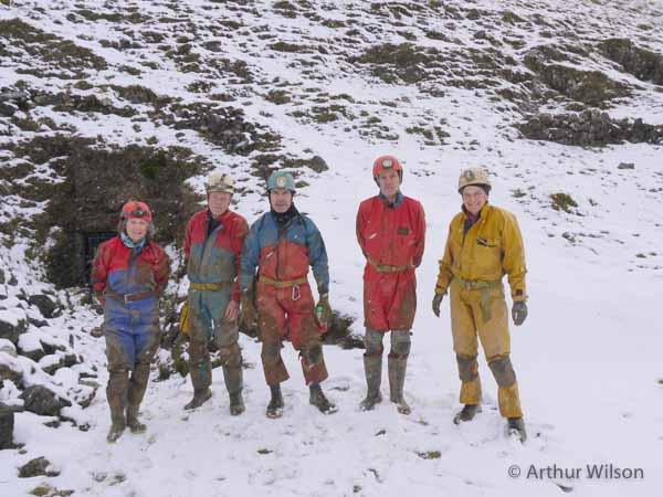 Derbyshire underground mine trip by Peak District Mines Historical Society