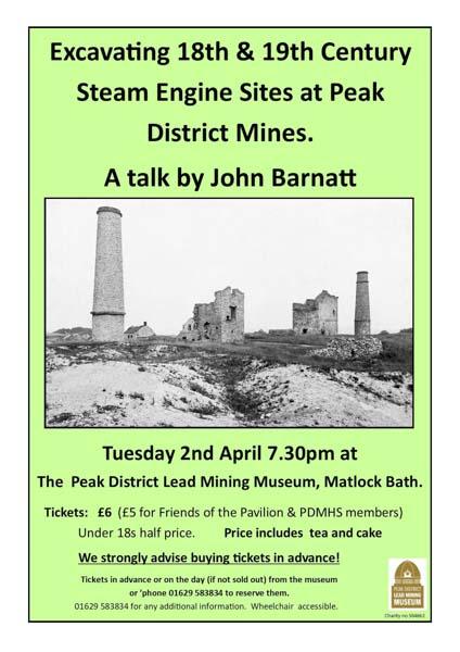 Peak District heritage talk by John Barnatt