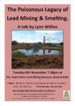 Derbyshire Heritage Event - The Poisonous History of Lead Mining and Smelting