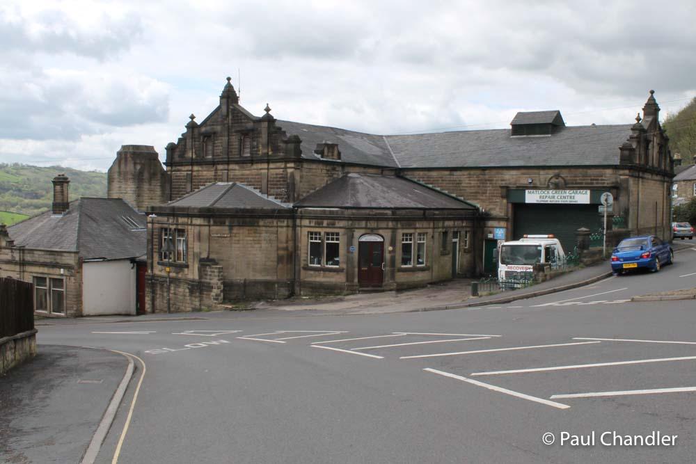 Former tramway depot, Bank Road, Matlock, Derbyshire